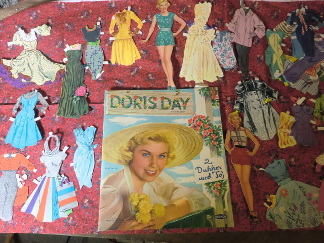 Cut out dolls with Doris Day